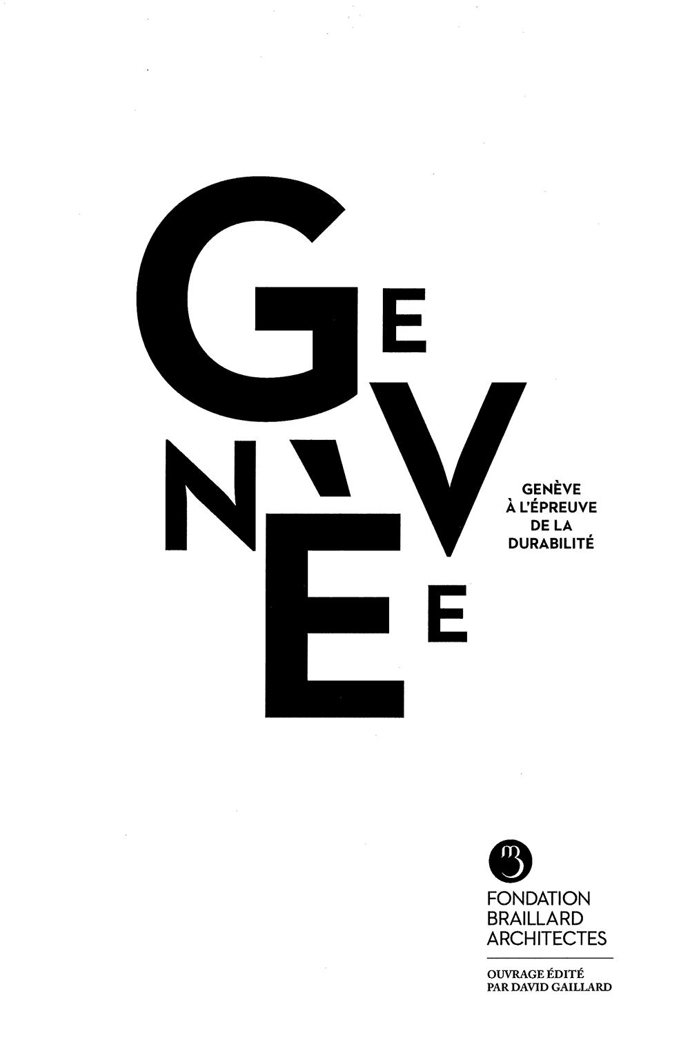 Genève à l'épreuve de la durabilité